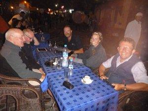 Sim's birthday party in Essaouira