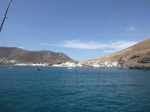 m_At anchor in Ginijinamar Fuertaventura
